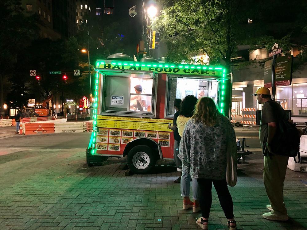 halal food cart uptown charlotte 2