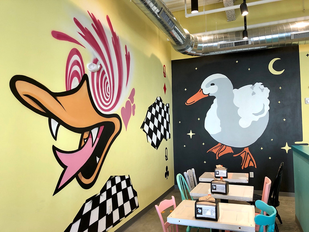 White Duck Taco Charlotte - interior pic 3