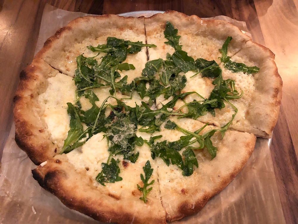 North Italia Charlotte Review - Bianca Pizza