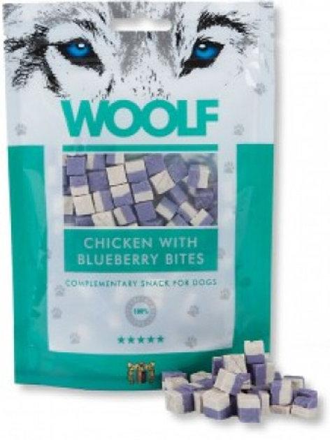 Woolf Chicken blueberry 100g