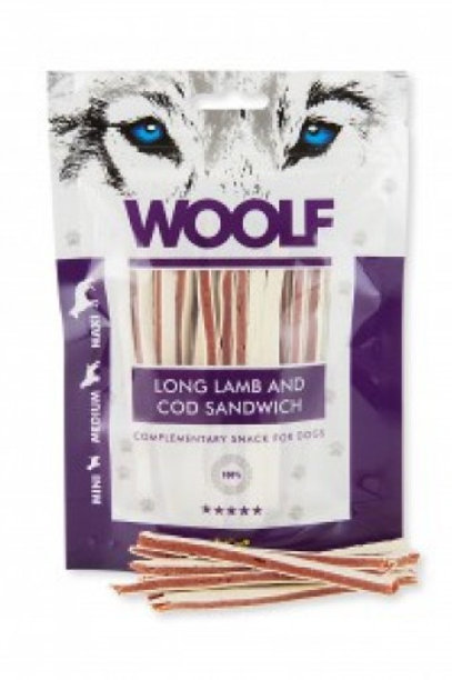 Woolf Lamb and cod sandwich 100g