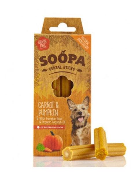 Soopa Dental sticks carrot and pumpkin 100g