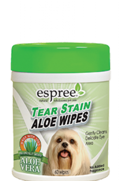 Tear stain wipes