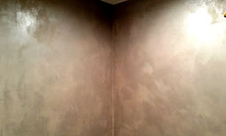Lustersone plaster on walls