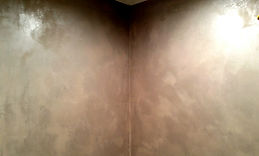 Grey Venetian plaster walls In Ventura Ca