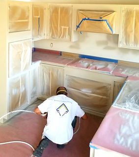 Santa Barbara cabinet painter