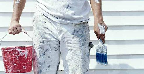 Ojai painters at work
