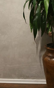 Venetian plaster concrete color on wall