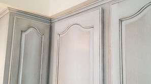 cabinet refinishing in Montecito