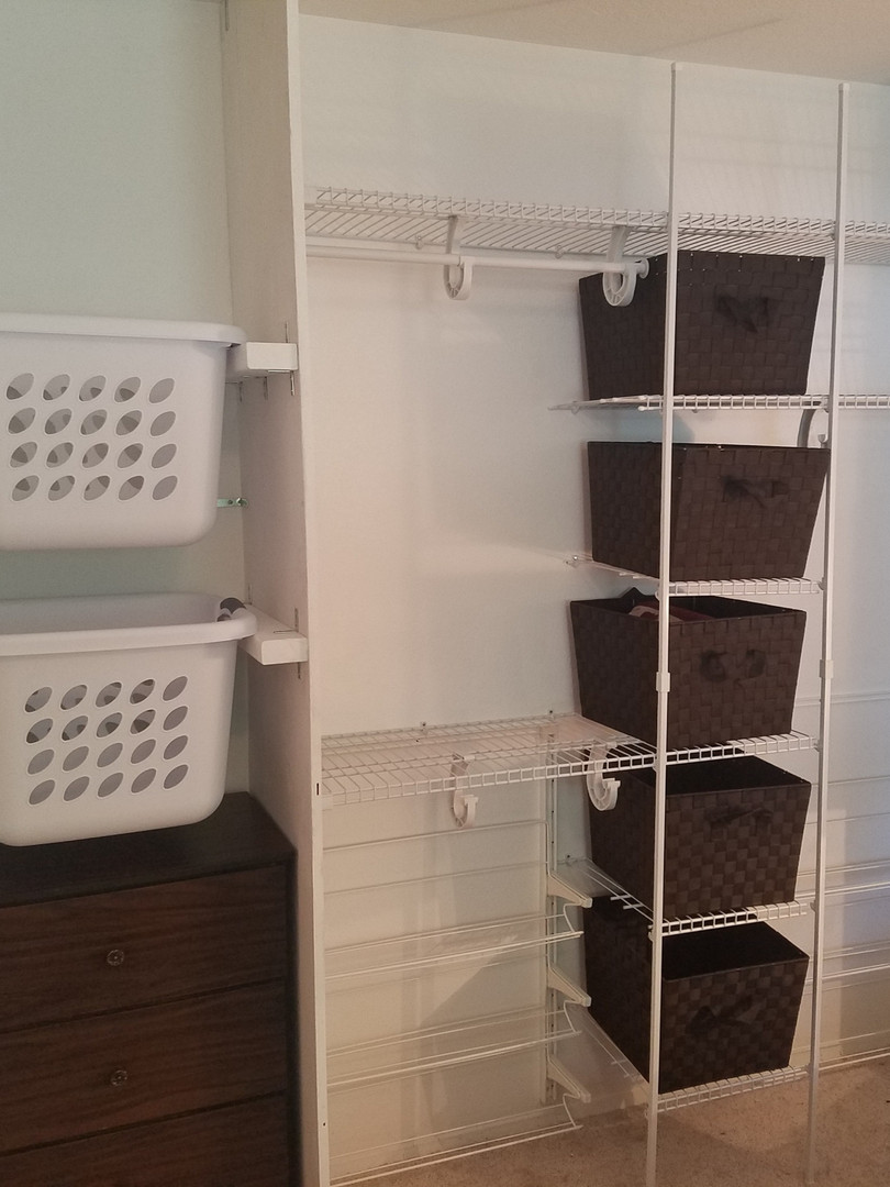 Custom Closet Design Installed