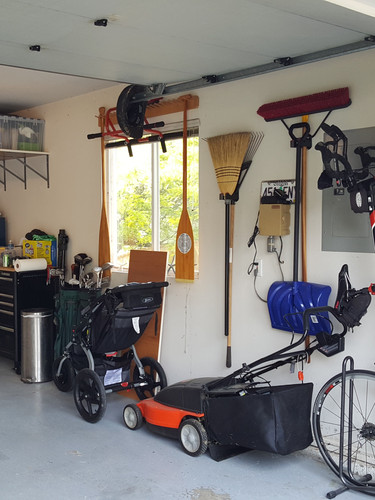 Organized Garage Wall