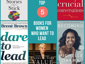 Top 5 Must-Read Books for Women Who Want to Lead