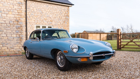 1969 Jaguar E-Type Series II 2+2 Fixed Head Coupe