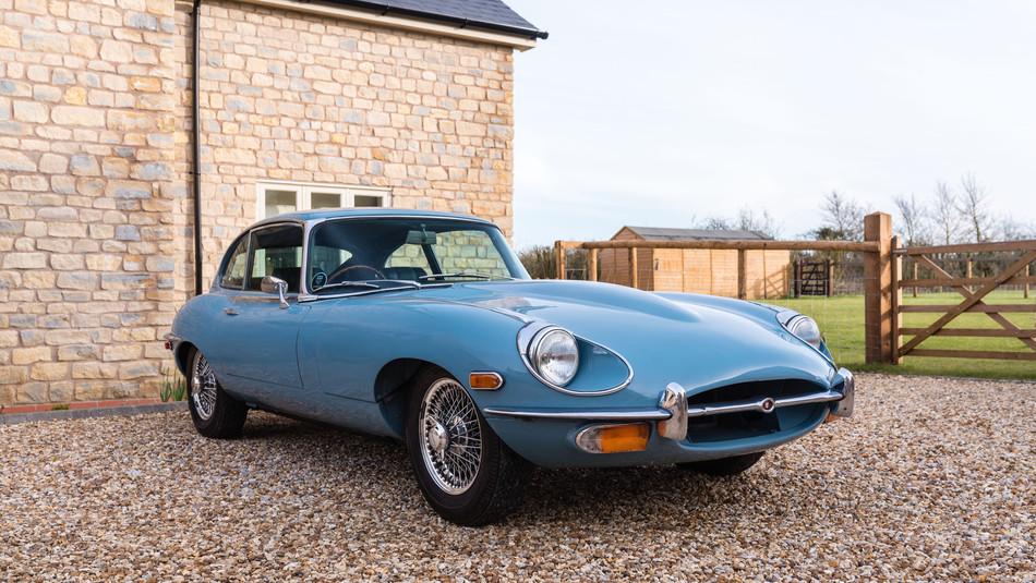 1969 Jaguar E-Type Series II 2+2 Fixed Head Coupe