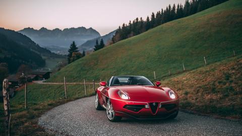 2016 Alfa Romeo Disco Volante Spyder
