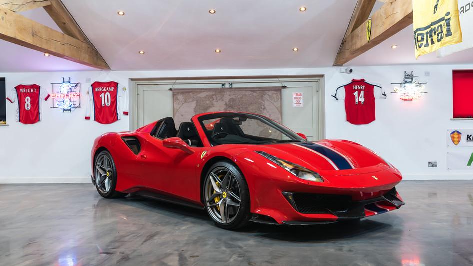 2019 Ferrari Pista Spider
