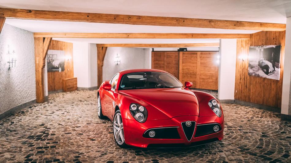 2009 Alfa Romeo 8C Competizione Limited Edition
