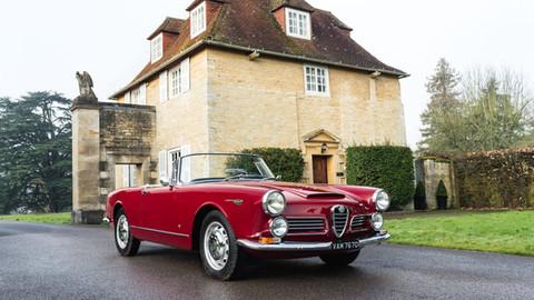 ** UNDER OFFER ** 1964 Alfa Romeo 2600 Spider