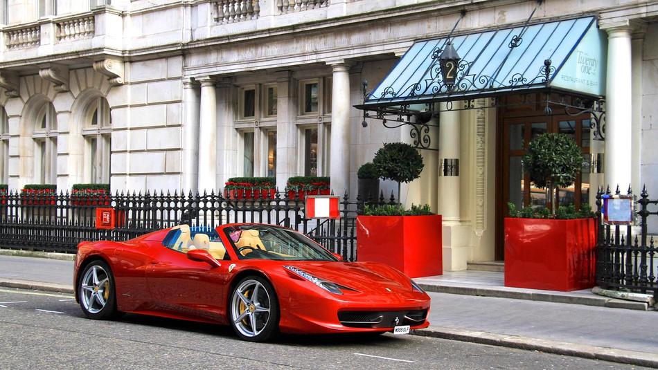 ** SOLD ** 2013 Ferrari 458 Spider