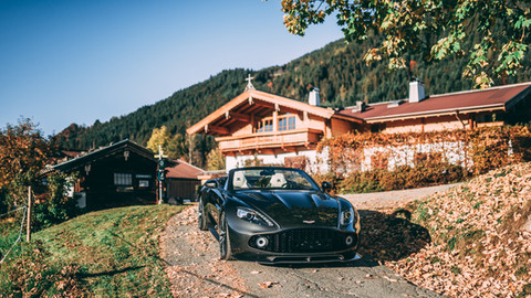 2017 Aston Martin Vanquish Zagato Volante