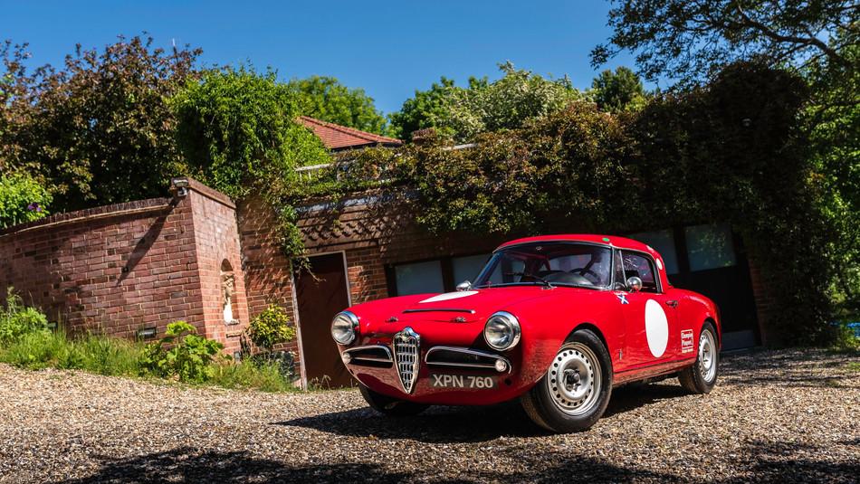 1965 Alfa Romeo Giulia 101 Spider Veloce 1600