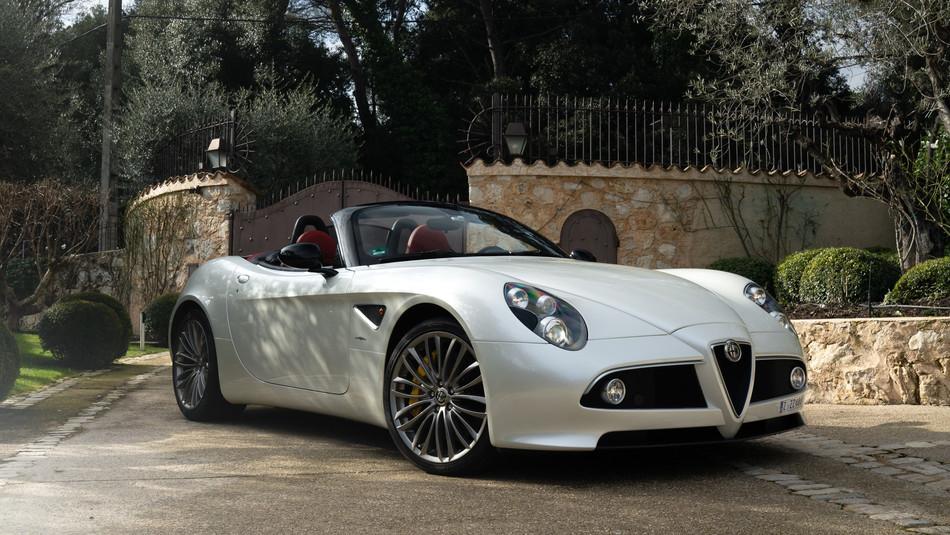 2012 Alfa Romeo 8C Spider Limited Edition