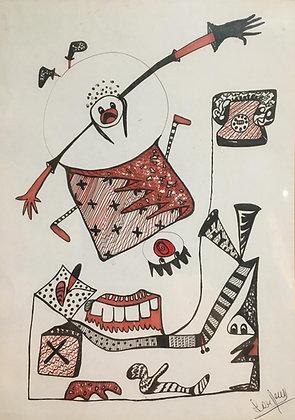 Drawing - L. Recci