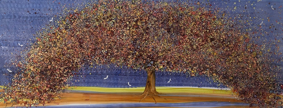 """Frondosidad"" - M.Pat /Original Painting on paper"