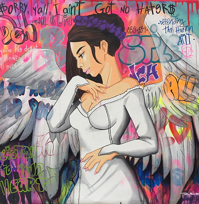"""Listen to your heart"" - R. Urbina"