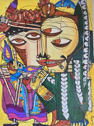 """""""México cubista"""" - O. Leiva"""