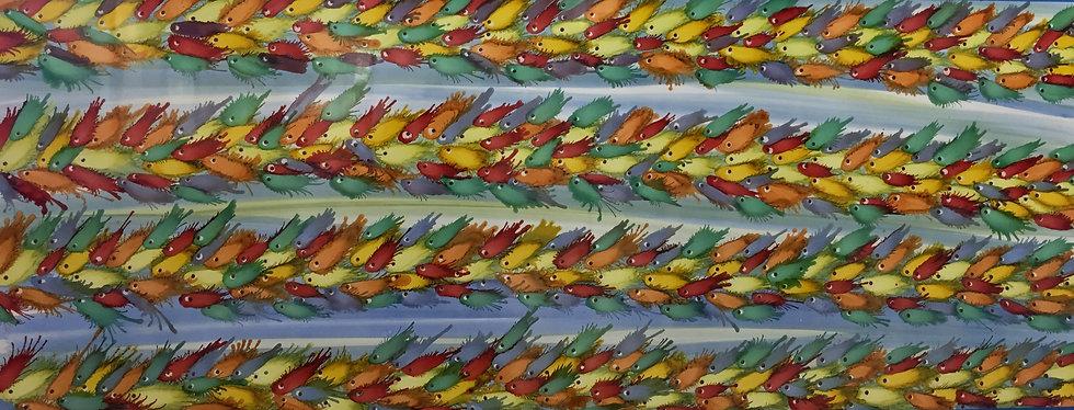 """Juntos"" - M.Pat /Original Painting on paper"