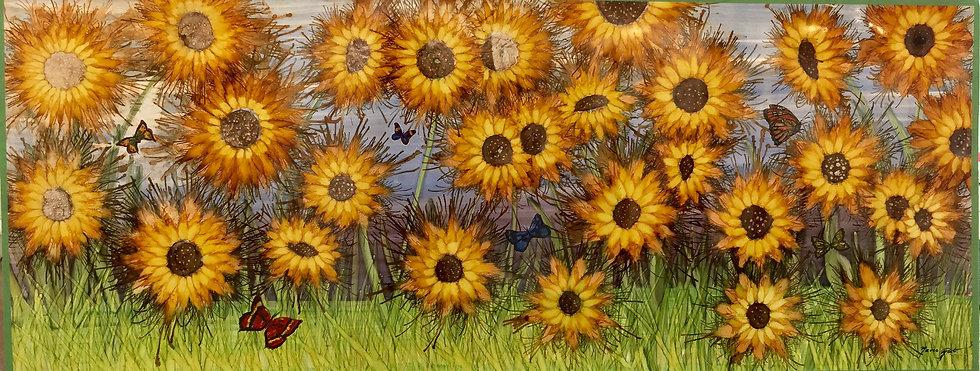 """Sunflowers"" M. Pat"