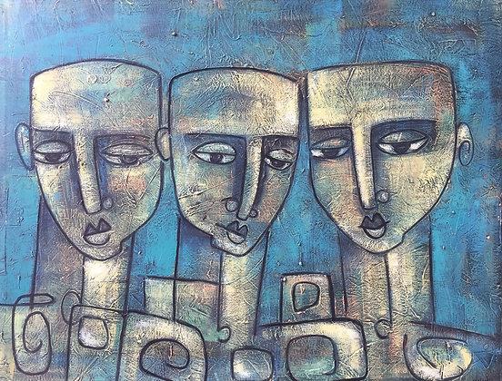 """""""Expressionismo""""M. González"""