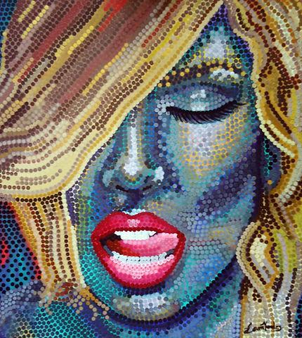 Laura Morales, laura morales art, portra