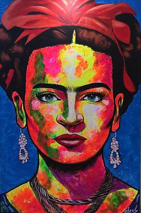 """Siempre Frida"" A. Sánchez"