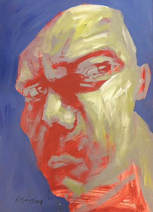 A. Massot - Portrait / Expressionism