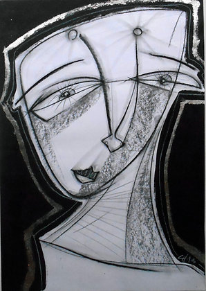 """Black and white"" - Gastón Charó"