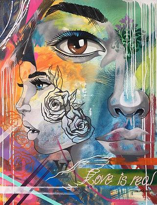 """""""Love is real""""- R.Urbina"""
