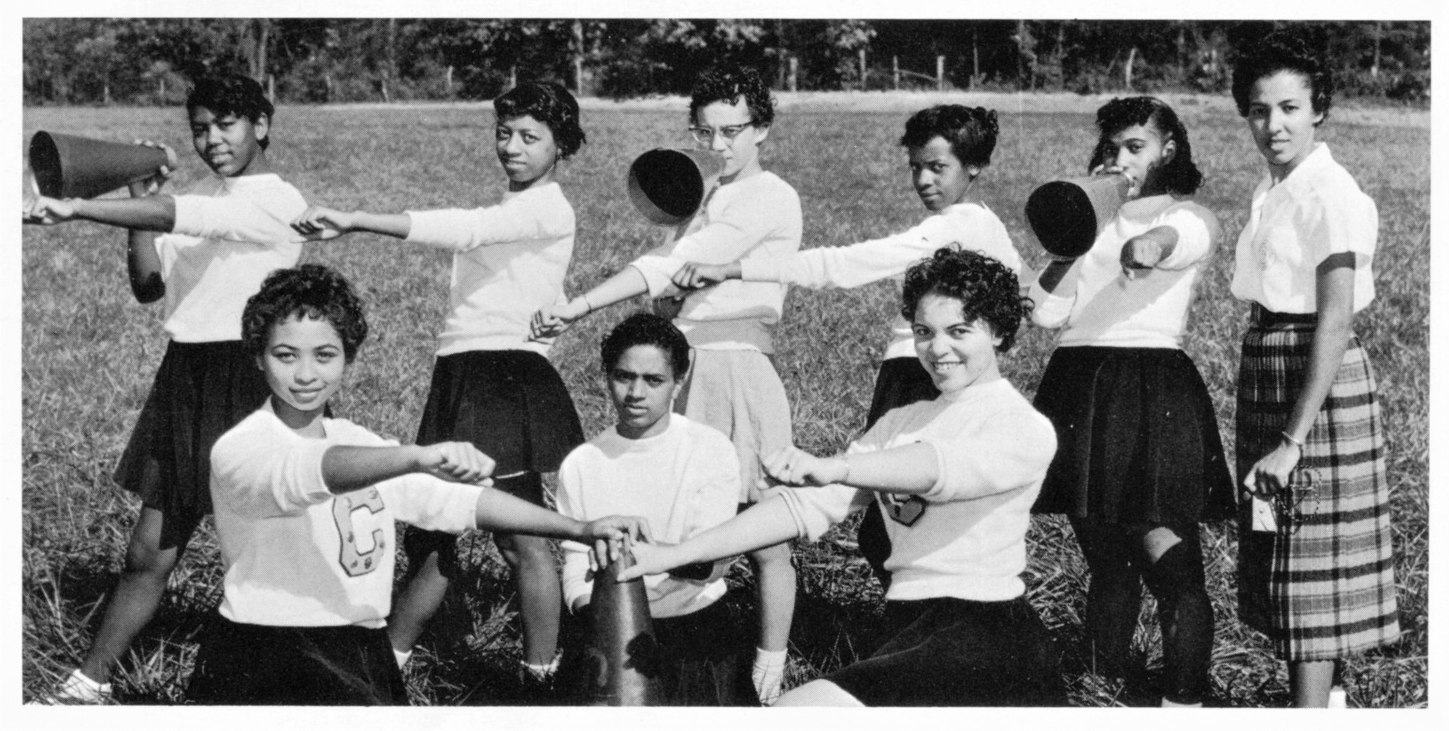 1960 Cheerleaders