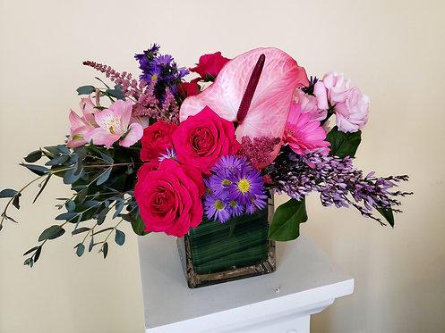 Low Vase Arrangements