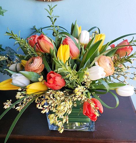 Cut Tulip Arrangements