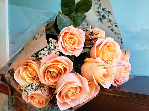 Colored Rose Bouquets