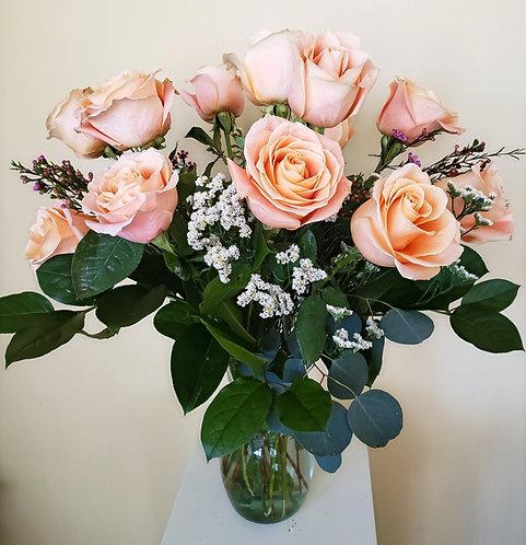 Colored Rose Arrangements