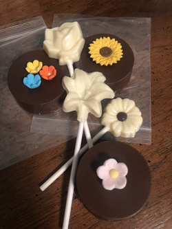 Nifty Needles and Blooming Chocolates