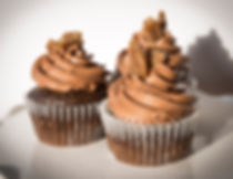 Bourbon Praline Chocolate Cupcakes Great Northwest Catering Sample Dessert Menu
