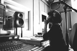 Studio-Aufnahme