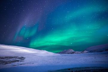 aurores boréales en laponie