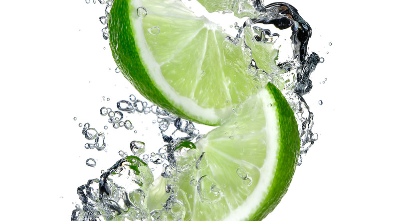 Lime slices falling into water.jpg