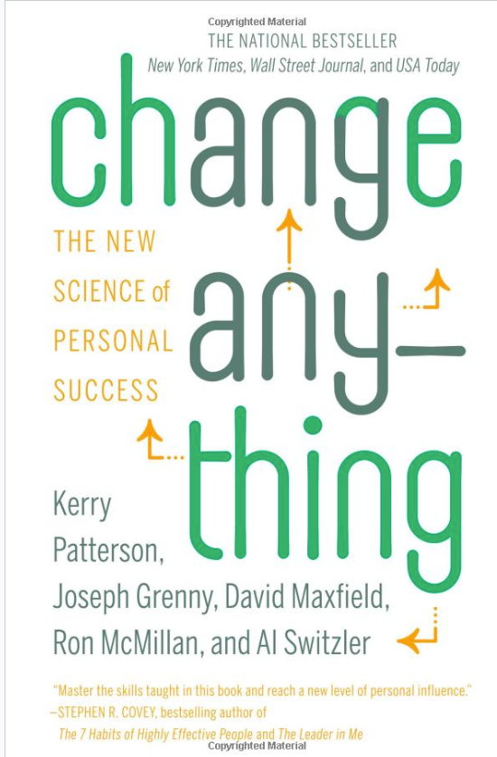 Change Anything Book