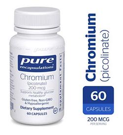 Pure Encapsulations Chromium 200 mcg